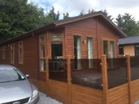 Luxury two bedroom Lodge for sale. Near Auchterarder and Gleneagles. Investment opportunity