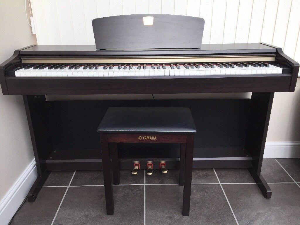 Yamaha Clavinova CLP 115 Digital Piano And Stool