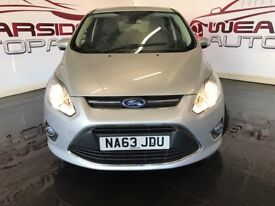FORD C-MAX 1.0 T EcoBoost Zetec 5dr (start/stop) (silver) 2013