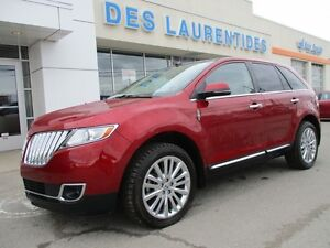 2013 Lincoln MKX AWD/TOIT/GPS/30000KM SEULEMENT