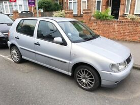 Volkswagen Polo, Silver, 1.4 Litre, 5 door, 1998. Great First car looking for a quick sale