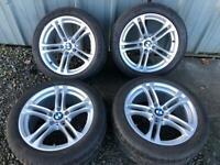 Bmw 5 series f10 alloy wheels 18 inch m sport