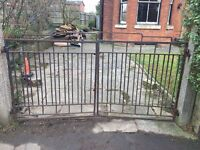 Art Deco style gates