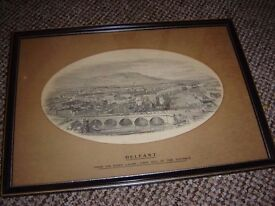 Framed Photo of the Lagan (Very old)