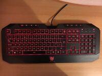 Predator keyboard