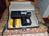 Minolta 8mm movie camera