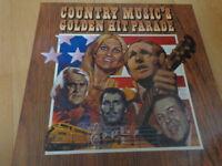 Country Musics Golden Hit Parade Box Set of Retro LPs