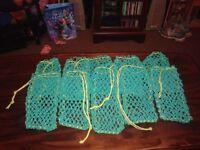 10 x Lobster Pot Bait Bags