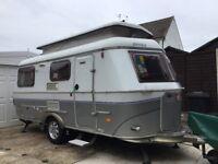 Eriba 540 GT Troll caravan with Reich motor mover