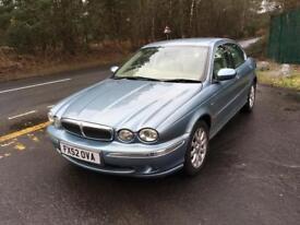 2002 Jaguar x type v6 auto low mileage