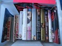 Joblot of hardback books
