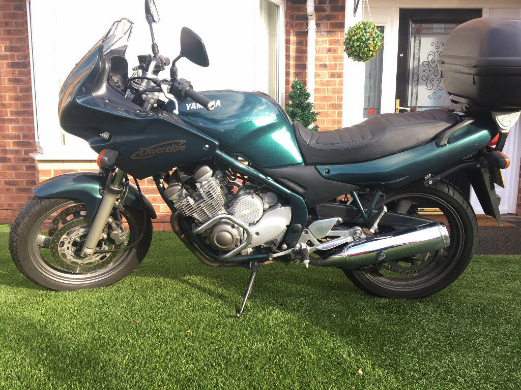 Favorit For sale Yamaha XJ 600 Diversion. genuine condition. Low miles  NG81
