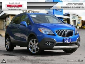 2014 Buick Encore LEATHER Seats! Heated Steering Whl! Remote Sta
