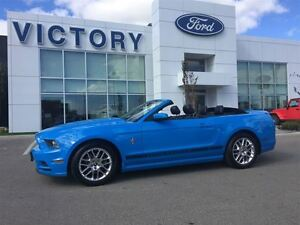 2013 Ford Mustang V6 AUTOMATIC LEATHER CONVERTIBLE