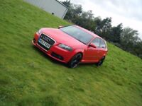 2008 AUDI 3 S LINE 2.0 TDI STUNNING CAR 19 INCH ALLOYS DRIVES SUPERB MAY PX