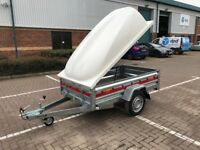 box trailer TEMA PRO With ABS Hard Top Lid Camping