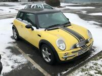2002 Mini one spares or repairs