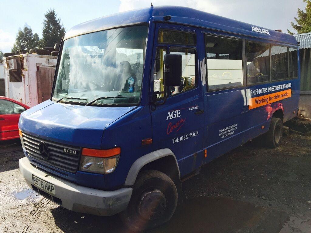 Mercedes 614 vario bus in maidstone kent gumtree for Mercedes benz vario 4x4 for sale