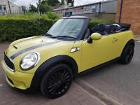 2009 MINI COOPER S CONVERTIBLE. 50KMILES ABSOLUTELY SUPERB CONDITION THROUGHOU PART EXCHANGE WELCOME