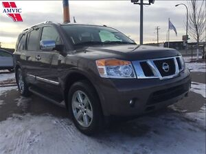 2014 Nissan Armada PLATINUM LOADED DVD 4X4