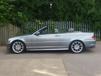 BMW 318 M SPORT CONVERTIBLE FACELIFT GREY