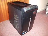Packard Bell iMedia SFF multimedia micro tower PC Intel Core 2 Duo E8400 3GHz 6MB cache