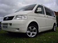 VW T5 2009 DAY VAN/ CAMPER VAN 1.9 TDI, HPI CLEAR, IMMACULATE, p/x