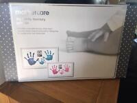 Hand print keepsake