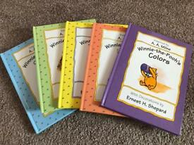 Winnie the Pooh book collection
