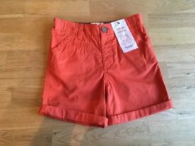 Brand new boys chino shorts