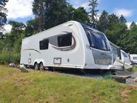 Elddis Supreme 866 Touring Caravan 6 Berth Tourer Excellent Condition 2018 Model