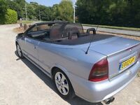 Vauxhall Astra Cabriolet/Convertible, excellent condition low miles