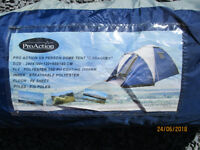 Pro-Action 5 Person Dome Tent - used