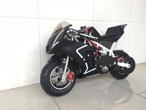 New Venom 49cc Gas Pocket Bike Premium 2 stroke Pocket Rocket Kids Toys Teen Bike Performance upgrades 6 months warranty