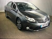 FINANCE £172 PER MONTH 1 OWNER 2013 TOYOTA AVENSIS 1.8 PETROL AUTOMATIC ONLY 9950 MILES NAVIGATION