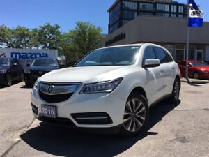 2016 Acura MDX Technology Package | DVD | Navigation | Power Sea