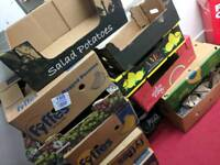 Free banana boxes- perfect for moving house!