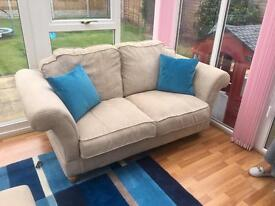 Sofas and footstool