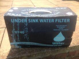 world of water under sink water filter wf40