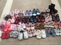 Girls baby shoes 31 pairs - some BNWT