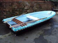 """Dory type fishing boat, tender, work boat 11ft 10"""""""
