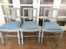 ENGLISH VINTAGE CHAIRS SET x4 FREE DELIVERY LDN🇬🇧no table