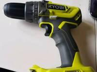 Hammer drill driver ryobi, 18v plus one