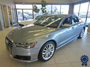 2016 Audi A6 2.0T Technik 5 Passenger Sedan, 33,393 KMs, 2.0L