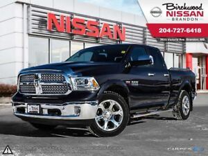 2013 Ram 1500 Laramie Leather! Sunroof! LOW KMS ! ONE Owner!