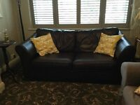 Marks and Spencer Abbey Leather Sofa Bed