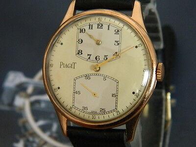 Vintage Men's Piaget Regulateur watch