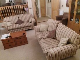 Two matching Sofas. High quality in good condition.