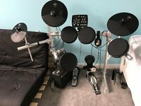 HXM HD006 Electronic Drum Kit inc stool, amp and headphones