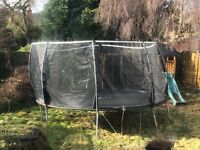 Large Trampoline with net